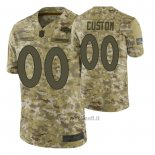 Maglia NFL Limited Denver Broncos Personalizzate Salute To Service Verde