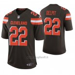 Maglia NFL Game Cleveland Browns 22 Grant Delpit 2020 Marronee