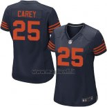 Maglia NFL Game Donna Chicago Bears Carey Blu