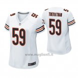 Maglia NFL Game Donna Chicago Bears Danny Trevathan Bianco