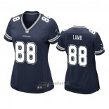 Maglia NFL Game Donna Dallas Cowboys Ceedee Lamb Blu