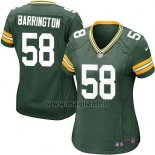 Maglia NFL Game Donna Green Bay Packers Barrington Verde Militar