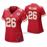 Maglia NFL Game Donna Kansas City Chiefs Damien Williams Rosso