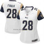 Maglia NFL Game Donna Los Angles Rams Faulk Bianco