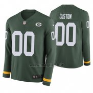 Maglia NFL Green Bay Packers Personalizzate Verde Therma Manica Lunga
