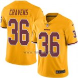 Maglia NFL Legend Washington Redskins Cravens Giallo
