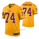 Maglia NFL Legend Washington Redskins Geron Christian Color Rush Giallo