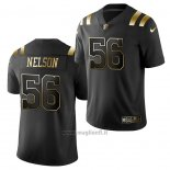 Maglia NFL Limited New England Patriots Quenton Nelson Golden Edition Nero