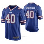 Maglia NFL Game Buffalo Bills Devin Singletary Blu