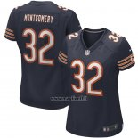 Maglia NFL Game Donna Chicago Bears David Montgomery Blu