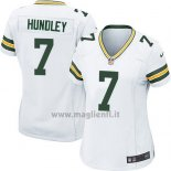 Maglia NFL Game Donna Green Bay Packers Hundley Bianco2