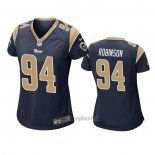 Maglia NFL Game Donna Los Angles Rams A'shawn Robinson Blu