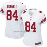 Maglia NFL Game Donna New York Giants Donnell Bianco