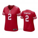 Maglia NFL Game Donna San Francisco 49ers Chris Thompson Rosso