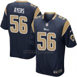Maglia NFL Game Los Angles Rams Ayers Nero