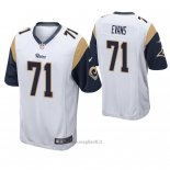 Maglia NFL Game Los Angles Rams Bobby Evans Bianco