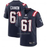 Maglia NFL Game New England Patriots Marcus Cannon Blu