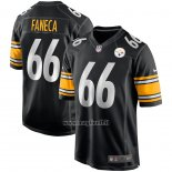 Maglia NFL Game Pittsburgh Steelers Alan Faneca Retired Nero