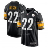 Maglia NFL Game Pittsburgh Steelers Steven Nelson Nero