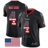 Maglia NFL Limited Houston Texans Watson Rush USA Flag Nero