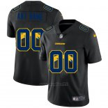 Maglia NFL Limited Los Angeles Chargers Personalizzate Logo Dual Overlap Nero