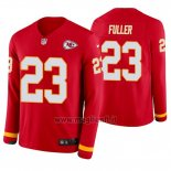 Maglia NFL Therma Manica Lunga Kansas City Chiefs Kendall Fuller Rosso