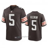 Maglia NFL Game Cleveland Browns Case Keenum Marronee