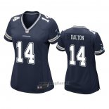 Maglia NFL Game Donna Dallas Cowboys Andy Dalton Blu