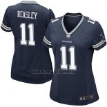 Maglia NFL Game Donna Dallas Cowboys Beasley Blu