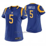 Maglia NFL Game Donna Los Angles Rams Blake Bortles Blu