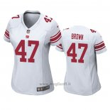 Maglia NFL Game Donna New York Giants Cameron Brown Bianco