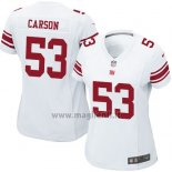 Maglia NFL Game Donna New York Giants Carson Bianco