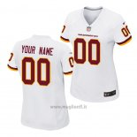 Maglia NFL Game Donna Washington Redskins Personalizzate Bianco