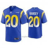 Maglia NFL Game Los Angles Rams 20 jalen Ramsey Blu