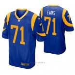 Maglia NFL Game Los Angles Rams Bobby Evans Blu