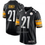 Maglia NFL Game Pittsburgh Steelers Tony Dungy Retired Nero