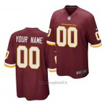 Maglia NFL Game Washington Redskins Personalizzate Rosso