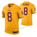 Maglia NFL Legend Washington Redskins Case Keenum Color Rush Giallo