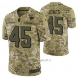 Maglia NFL Limited Atlanta Falcons 45 Deion Jones 2018 Salute To Service Camuffamento
