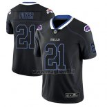 Maglia NFL Limited Buffalo Bills Jordan Poyer Nero Color Rush 2018 Lights Out