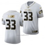 Maglia NFL Limited Seattle Seahawks Jamal Adams Golden Edition Bianco