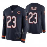 Maglia NFL Therma Manica Lunga Chicago Bears Kyle Fuller Blu