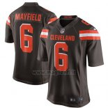 Maglia NFL Game Cleveland Browns 6 Baker Mayfield 2018 Draft Pick