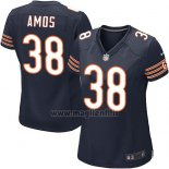 Maglia NFL Game Donna Chicago Bears Amos Bianco Blu