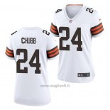 Maglia NFL Game Donna Chicago Bears Nick Chubb Bianco