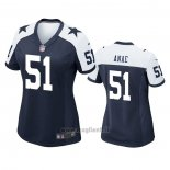 Maglia NFL Game Donna Dallas Cowboys Bradlee Anae Alternato Blu