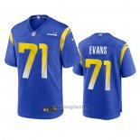 Maglia NFL Game Los Angles Rams Bobby Evans 2020 Blu