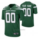 Maglia NFL Game New York Jets Personalizzate Game Verde