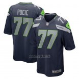 Maglia NFL Game Seattle Seahawks Ethan Pocic Blu