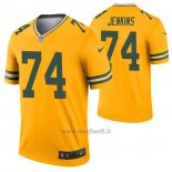 Maglia NFL Legend Green Bay Packers Elgton Jenkins Inverted Or